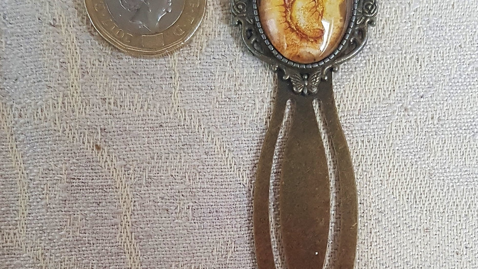 Rust Dragon Bookmark