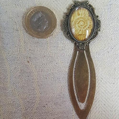 Ammonite Bookmark