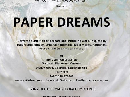 PAPER DREAMS EXHIBITION