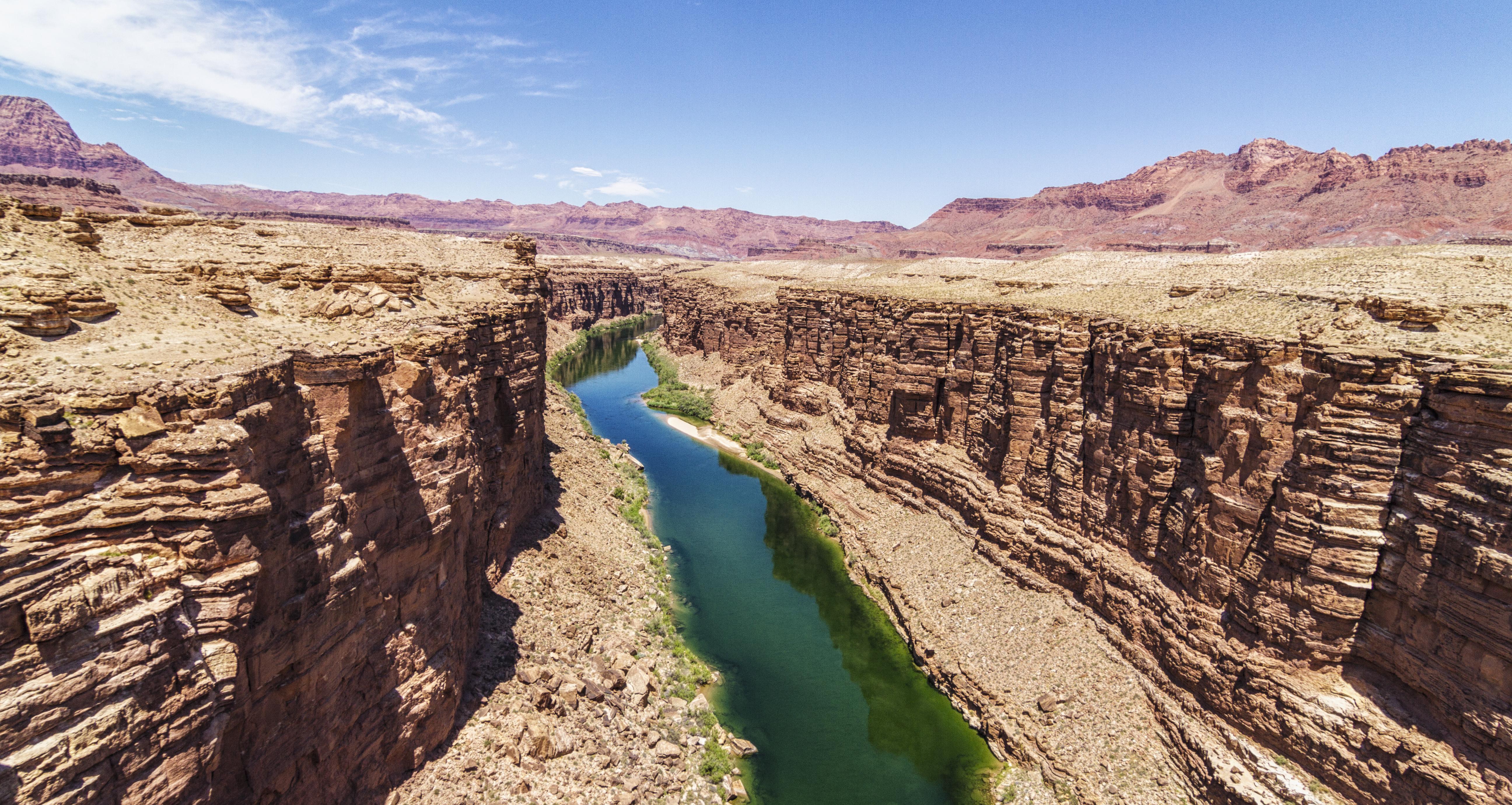 Overlooking Colorado River