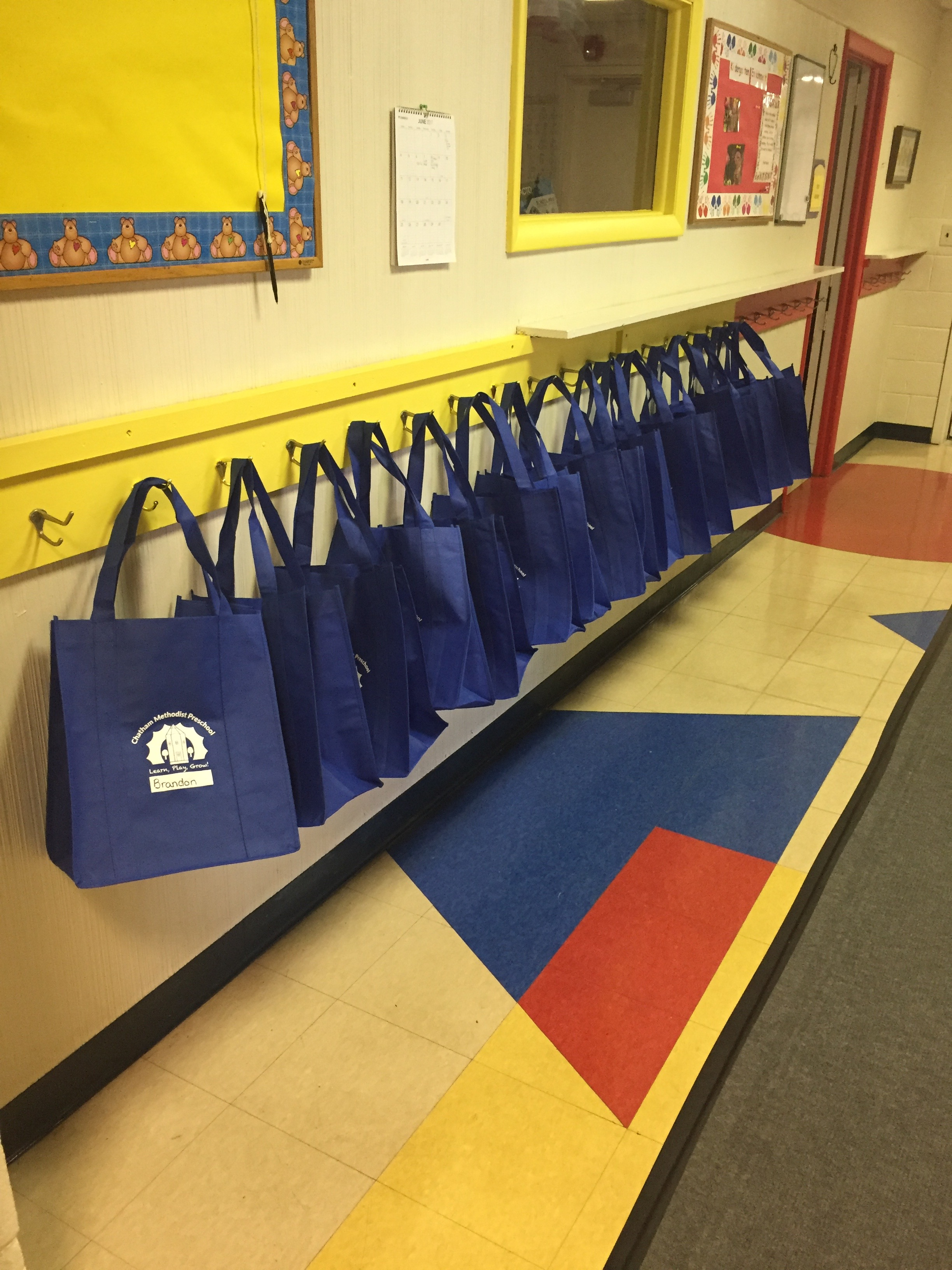 Preschool bags