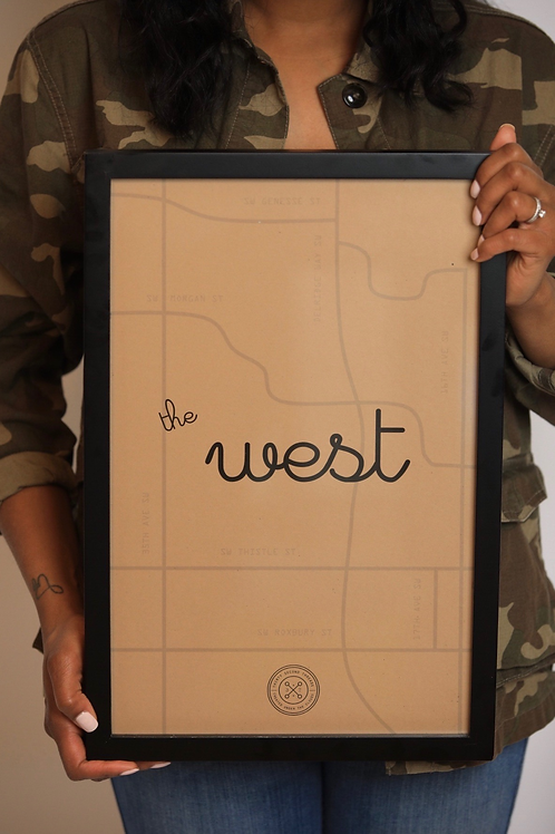 The West Map