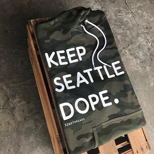 Keep Seattle Dope Hooded Sweatshirt