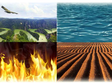 קפוארה- אדמה, אוויר, מים ואש