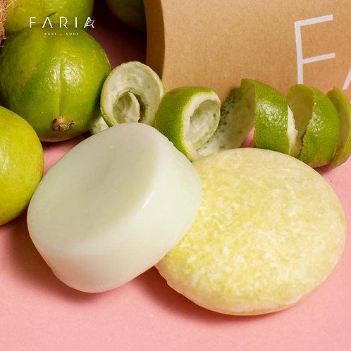 """""""Coco Lime""""  Shampoo + Acondicionador para cabello graso"""
