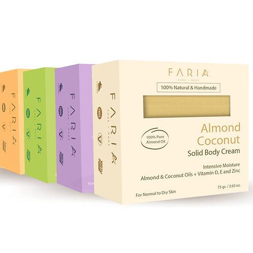 4 Pack de Cremas Sólidas Piel Regular a Seca