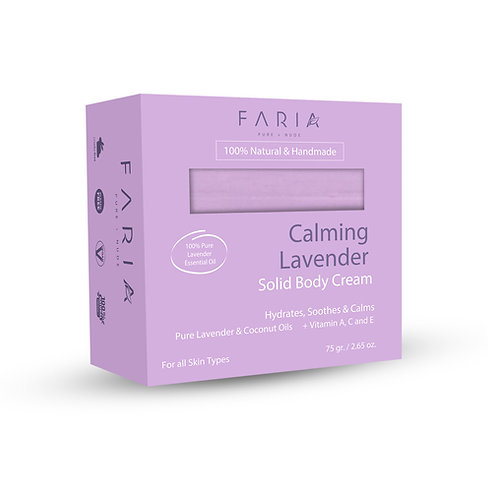 Crema Sólida Calming Lavender Piel Regular a Seca