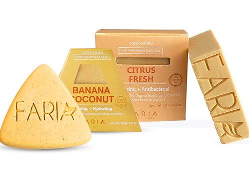 Pack Soap: Jabón Facial+ Jabón Corporal