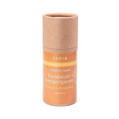 "Desodorante Orgánico ""Orange Bergamot"""