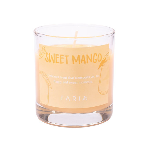 Vela de Cera de Soja: Sweet Mango