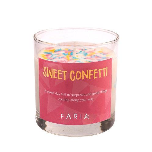 Vela de Cera de Soja: Sweet Confetti