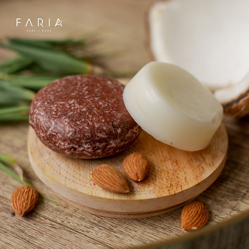 Almond Coconut  Shampoo + Acondicionador para cabello seco / maltratado