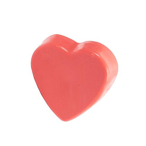 """Jabón de Rostro """"Cherry Vanilla"""" Corazón"""