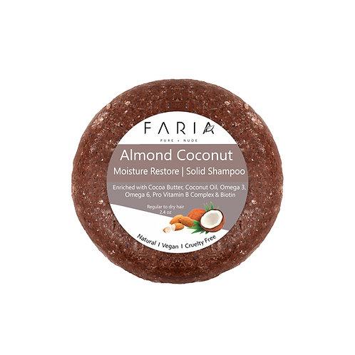 """Almendra Coco"" Shampoo Sólido para cabello seco o maltratado"