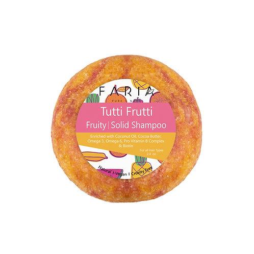 """""""Tutti Frutti"""" Shampoo Sólido para cabello regular"""