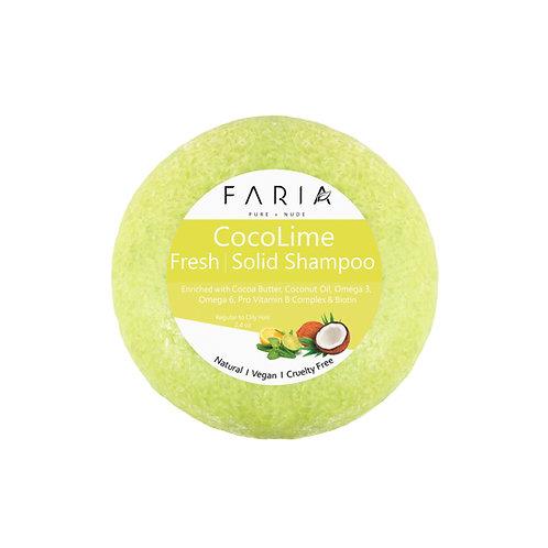 """""""CocoLime"""" Shampoo Sólido para cabello graso"""