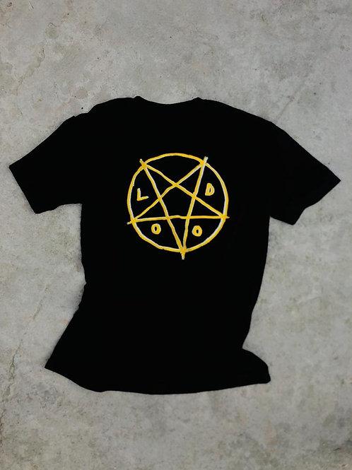 Camiseta Lodograma Amarelo