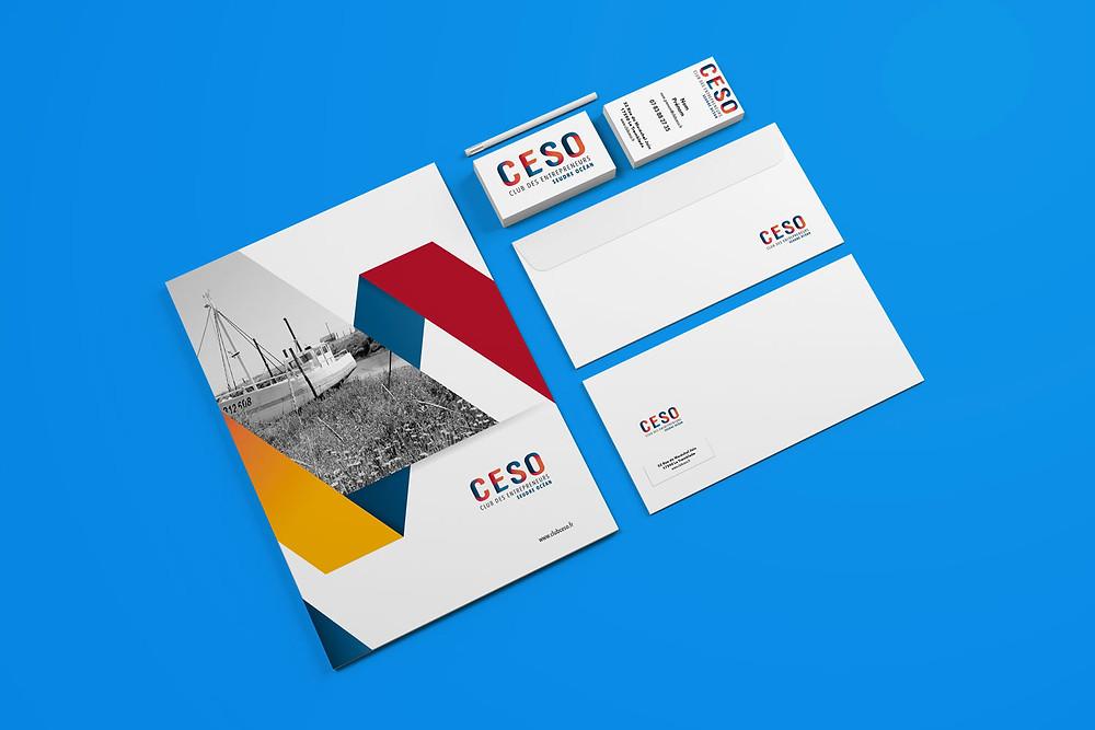 Charte Graphique Club des Entrepreneurs Seudre Océan