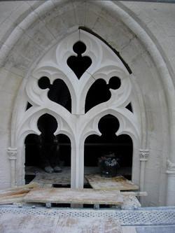 Réseau gothique, Fenestrage