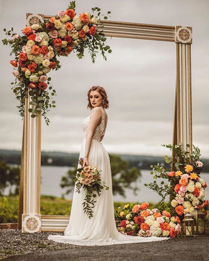 This bridal styled shoot was EVERYTHING