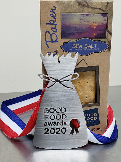 6 - Pack Sea Salt Flatbread Crackers