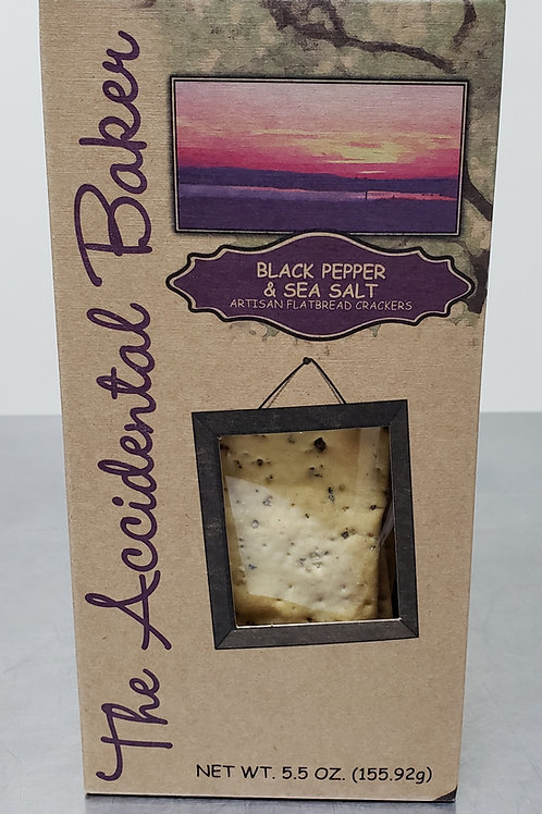 4-Pack Cracked Pepper Flatbread Crackers