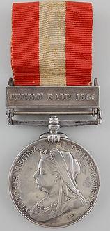 Canada General Service Medal; Fenian Raids; Canada honors; canadian honours