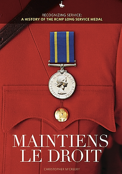 RCMP Long Service Medal; Canada honours; Canadian honors; Christopher McCreery; Chris McCreery