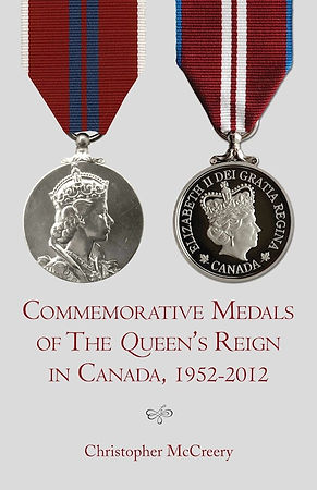 Commemorative Medals; Queen's Jubilee Medal; Diamond Jubilee Medal; Golden Jubilee Medal; Canada honours; Canadian honors; Queen's honours; Royal Honours; Christopher McCreery; Chris McCreery; Canada honours
