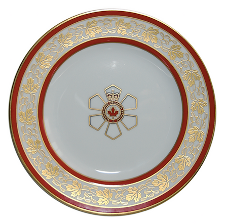 Order of Canada; Order of Canada plates