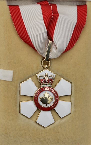 Officer of the ORder of Canada; canada honours; canada honor; order of canada; garrard jewellers
