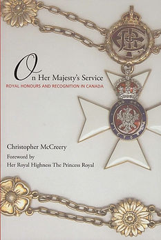 Order of Canada; Order of Canada history; Christopher McCreery; Canada honours; Canadian honours; Royal Victorian Order