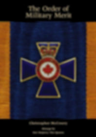 Order of Military Merit Canada; Order of Military Merit history; Order of Military merit; Christopher McCreery; Chris McCreery; Canadian Honours; Canada honors