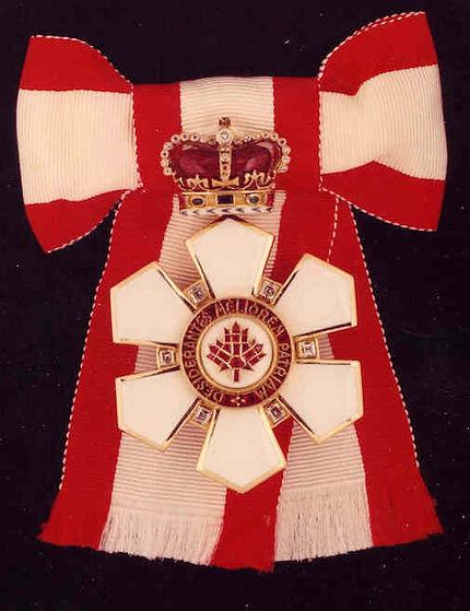 Order of Canada; Sovereign of the ORder of Canada; Queen Elizaebth II; QUeen of Canada