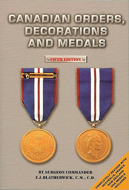 John Blatherwick; canada honours
