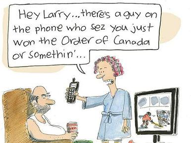 ORder of Canada; Order of Canada cartoon