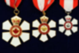Order of Canada; Royal Canadian Mint; Companion of the Order of Canada; Officer of the Order of Canada; Member of the Order of Canada