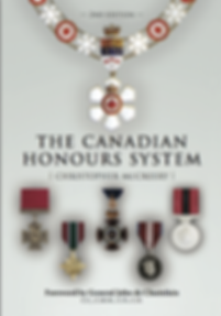 Canada Honours; Canadian honours; The Canadian Honours System; Christopher McCreery; Chris McCreery; Order of Canada