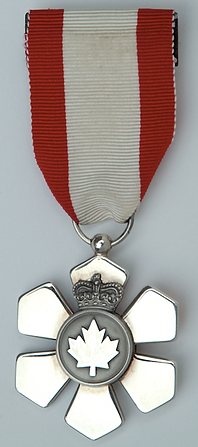 Order of Canada; Medal of Service of the Order of Canada; Medal of Service