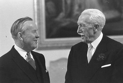 Lester Pearson;  Georges Vanier; George Vanier; Canada Prime Minister; Canada Governor General; Governor General; Rideau Hall; Government House Ottawa