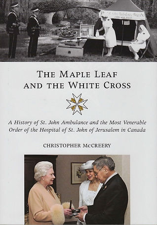 Order of St. John; St. John Ambulance Canada; Canada honours; Canadian honours; christopher mccreery; Chris McCreery