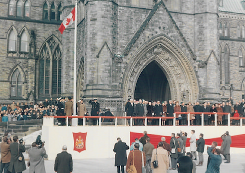 Canadian Flag, National Flag of Canada, Canadian Red Ensign, Red Ensign, Parliament, Georges Vanier