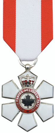 Member of the Order of Canada; Order of Canada; Canada honours; canadian honors