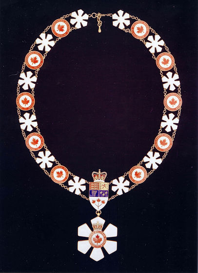 Order of Canada; Chancellor Order of Canada; Governor General of Canada