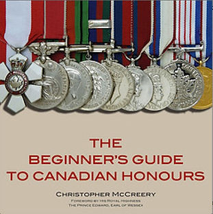 Order of Canada; Order of Canada history; Christopher McCreery; Canada honours; Canadian honours