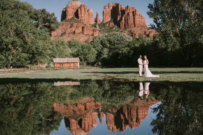 Alexis and George | Sedona Wedding Portraits