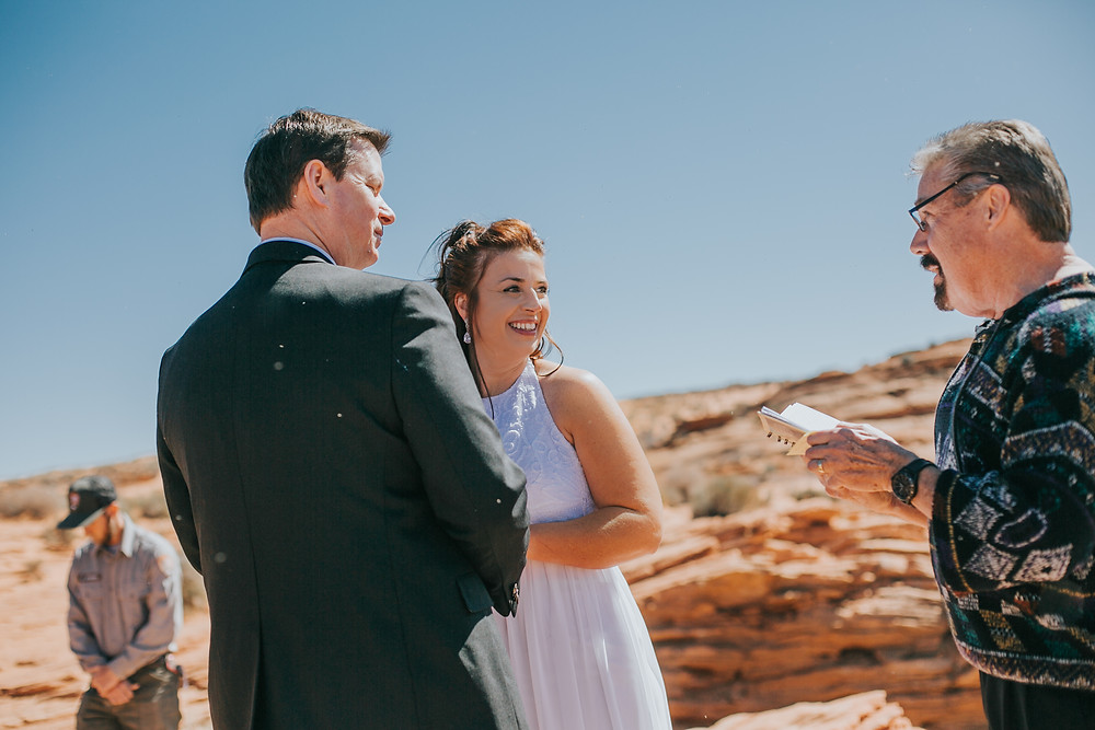 Horseshoe bend wedding