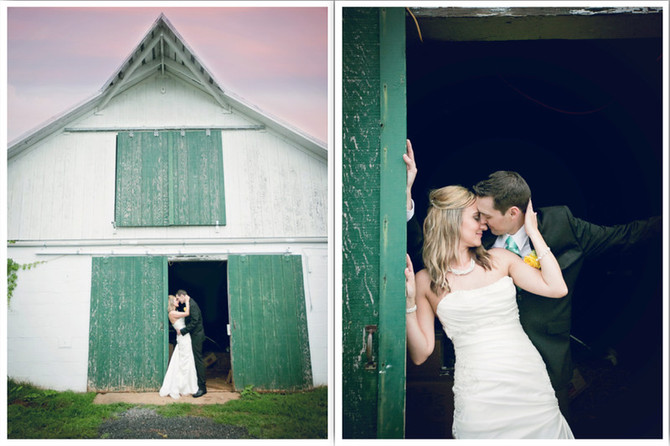 Carissa + Luke : Briar Patch B &B Wedding