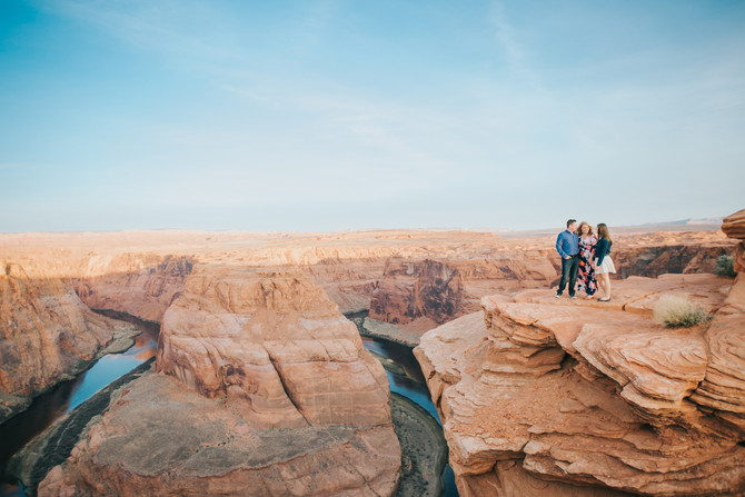 Browell Family Adventure // Antelope Canyon and Horseshoe Bend // Page, AZ
