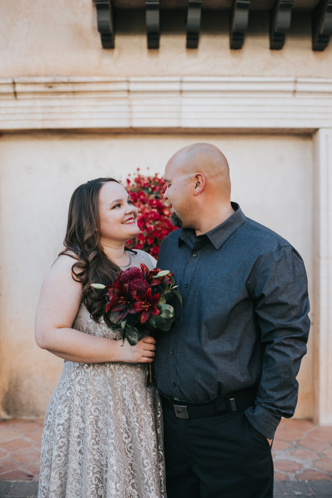 Alicia + Mark's Elopement // Tlaquepaque // Sedona, AZ